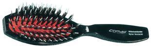 Bürste 061 Plexi oval mit Griff - klein