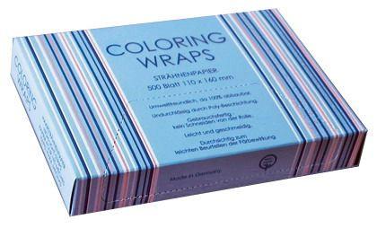 Strähnenpapier Color.Wraps kl. 11x16cm