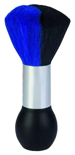 Pinsel 007 Nackenpinsel rund groß schwarz-blau