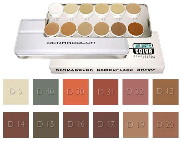 Dermacolor Camouflage Palette B