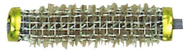 Drahtwickler + Borste 13 mm gelb