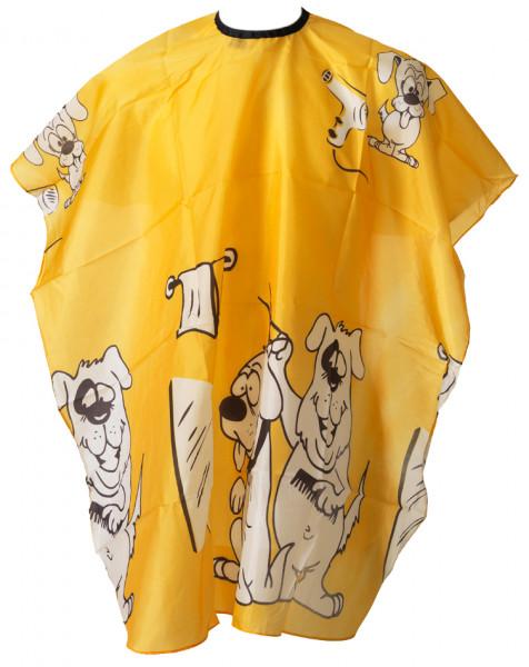 Umhang Kinder 15 - Hund gelb
