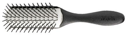 Bürste 073b Denman D41N-9-reihig,grob,schwarz