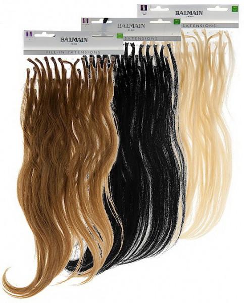Haarsträhnen Echthaar Multipack - 25cm