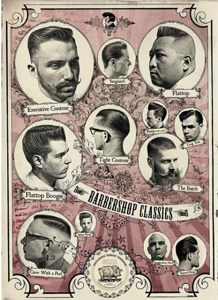 Reuzel Poster Barbershop Classics