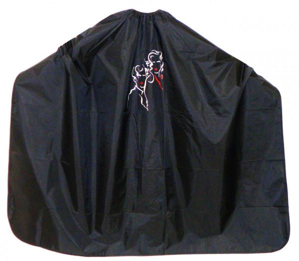 Umhang 46 silber-schwarz