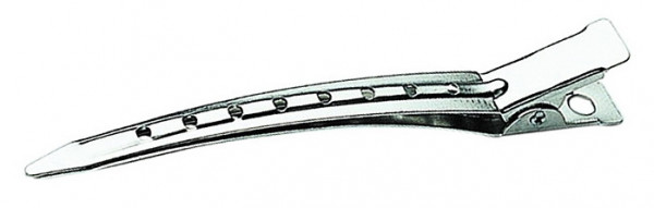 Abteilklammern Metall gelocht 9cm