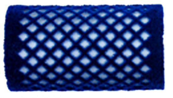 Samtwickler 36 mm blau groß