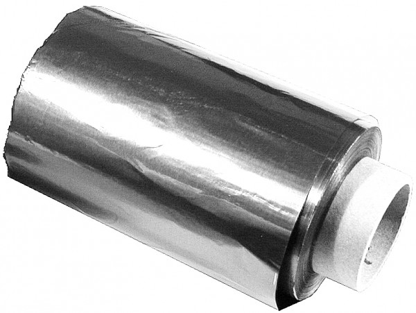 Alufolie silber 12cm x 250m, 15µm