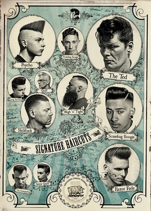 Reuzel Poster Signature Haircuts