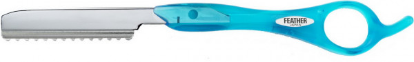 Feather Messer blau (Sebastian)