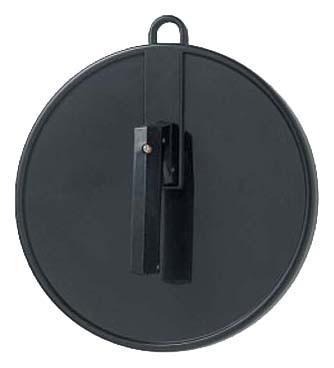 Spiegel Cabinett rund klein ø=25cm schwarz