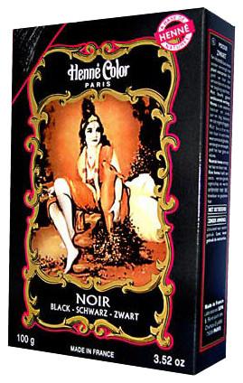Henna Pulver schwarz