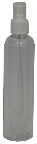 Plastikflasche leer + Sprühkopf transparent