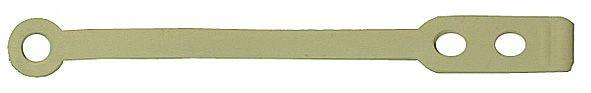 DW-Gummilaschen flach kurz 75mm