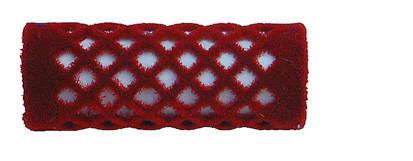 Samtwickler kurz 18 mm rot