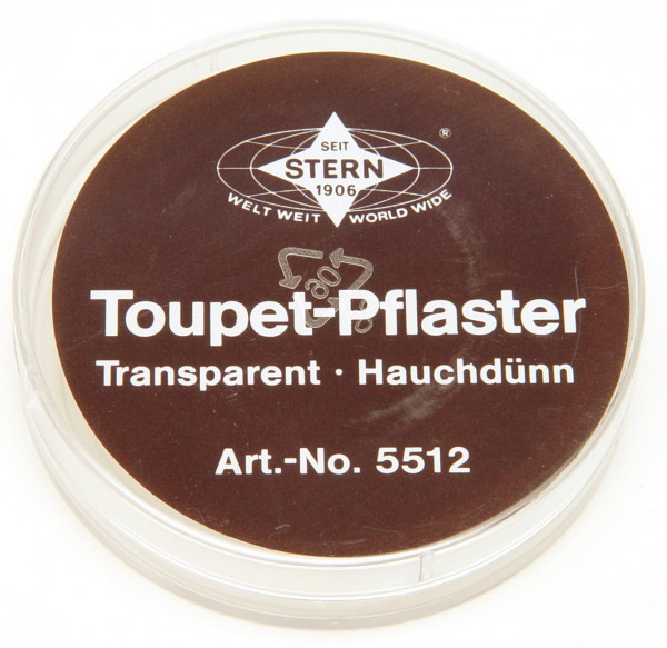 Toupetpflaster Rolle Stern