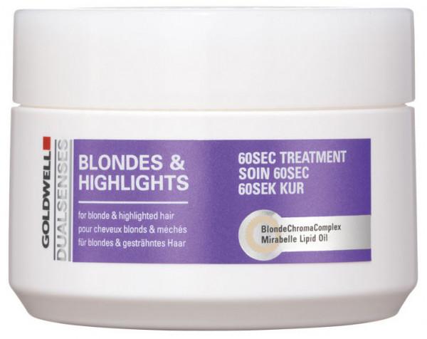 Duals Blondes 60sec. Treatment