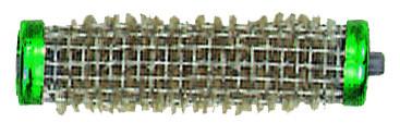 Drahtwickler + Borste 15 mm grün
