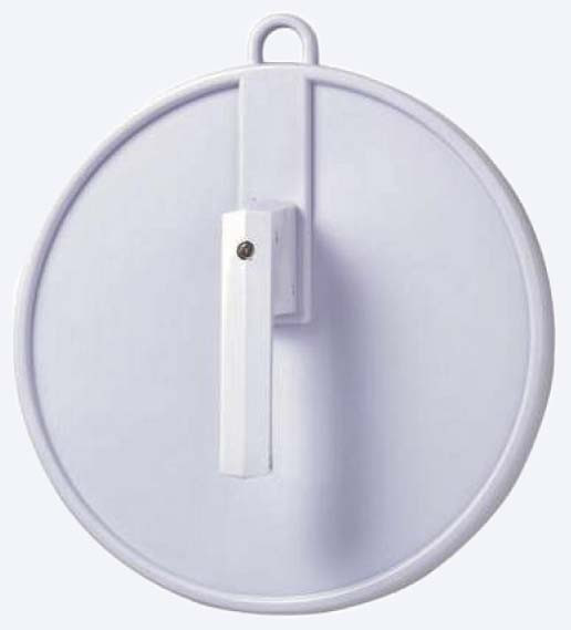 Spiegel Cabinett rund klein ø=25cm weiß