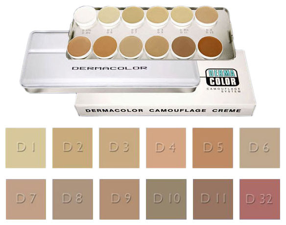 Dermacolor Camouflage Palette A