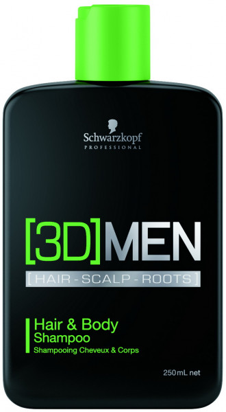 3D Men Shampoo Hair & Body