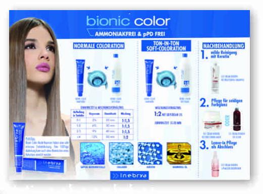 Inebrya Bionic Mixeckenplakat