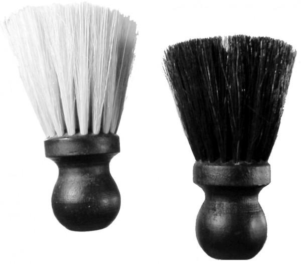 Pinsel 008b Nackenpinsel Holz schwarz