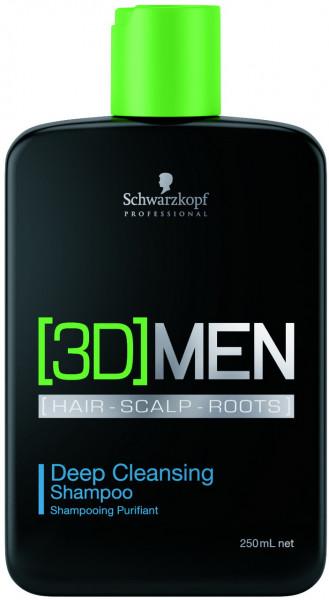 3D Men Shampoo Deep Cleansing