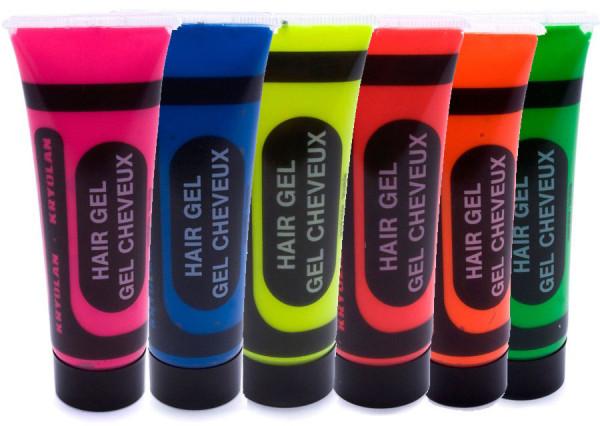 Haargel UV - färbig